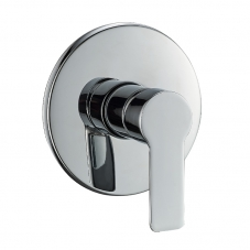 TAP PLUS BATH SHOWER MIXER UNDERWALL CHROME DIDI
