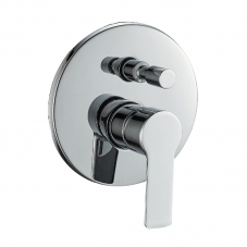 TAP PLUS BATH SHOWER DIVERTOR UNDERWALL CHROME DIDI