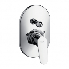 TAP E2 DÉCOR BATH SHOWER DIVERTOR TRIM ONLY CHROME HANSGROHE