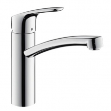 TAP E2 DÉCOR SINK MIXER PILLAR TYPE CHROME HANSGROHE