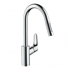 TAP E2 DÉCOR SINK MIXER PULL OUT SPOUT CHROME HANSGROHE