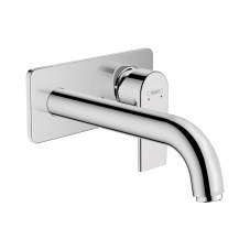 71578000 VERNIS SHAPE WALL TYPE BASIN MIXER EXCL BODY - CHR