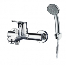 ONEX BATH MIXER INCLUDING HAND SHOWER - CHROME (SL120OXW)