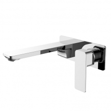 STERLYN WALL TYPE BASIN MIXER - CHROME (SL220SNW)