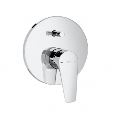 TAP ATLAS BATH SHOWER MIXER UNDERWALL CHROME ROCA