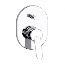 TAP VICTORIA BATH SHOWER DIVERTOR MIXER UNDERWALL CHROME ROC