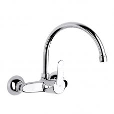 TAP VICTORIA SINK MIXER WALL TYPE CHROME ROCA