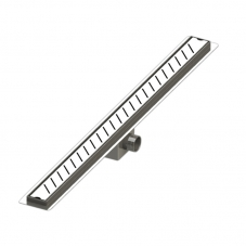 SCH1185MM SS304 INC FLANGE & 50MM OUTLET (LINEAR PERFORATED)